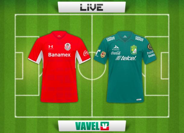 Resultado Toluca - León en Liga MX 2014 (2-3)