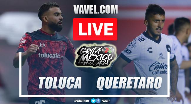 Goals and Highlights of Toluca 1-1 Queretaro on Apertura 2021 Liga MX