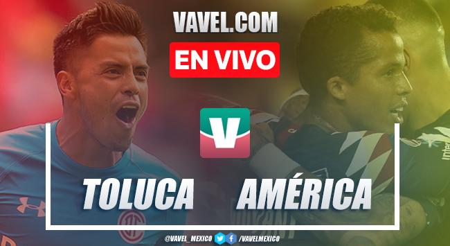 Resumen y goles Toluca 0-1 América en Apertura 2019 Liga MX