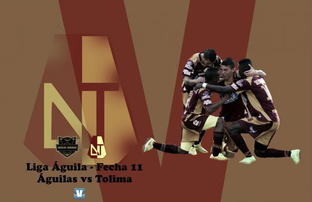 Águilas - Tolima: conseguir una victoria en nuevas tierras