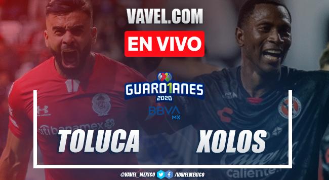 Goles y resumen: Toluca 2-0 Xolos Tijuana en Liga MX Guard1anes 2020