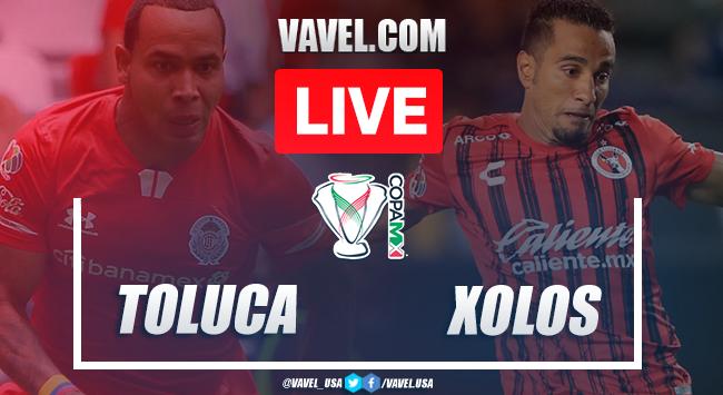 Highlights and goals: Toluca 3-4 Xolos Tijuana on 2020 Copa MX