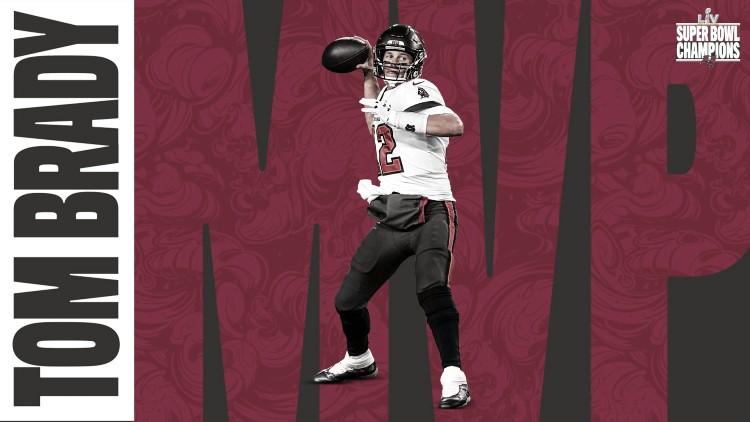 Honor a quien honor merece: Tom Brady el MVP del Super Bowl LV