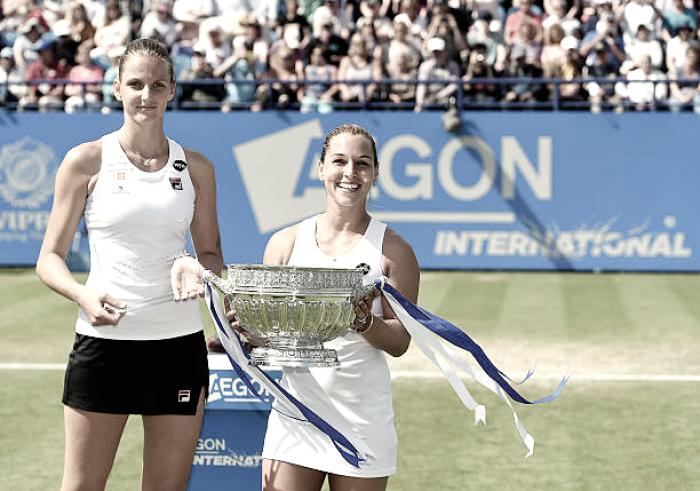 WTA Eastbourne: 2016 finalists Dominika Cibulkova, Karolina Pliskova, home favorite Johanna Konta amongst early headliners