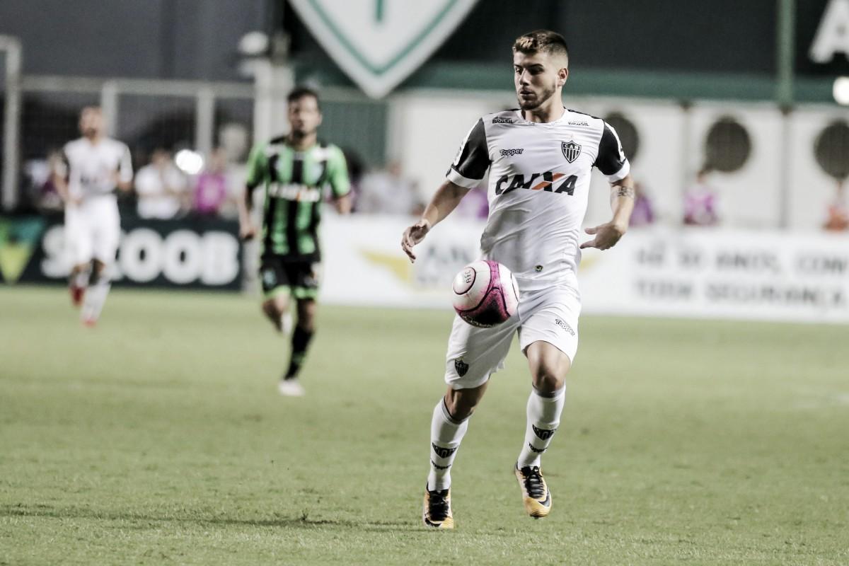 Tomás Andrade estreia pelo Atlético, dá duas assistências e comemora vitória sobre América