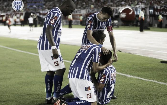 """Carabajal: """"La pelota entró y nos sirviópara ganar"""""""