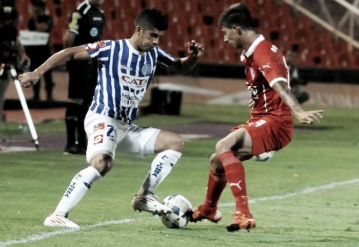 """Puntajes del """"Rojo"""" ante Godoy Cruz (1-1)"""