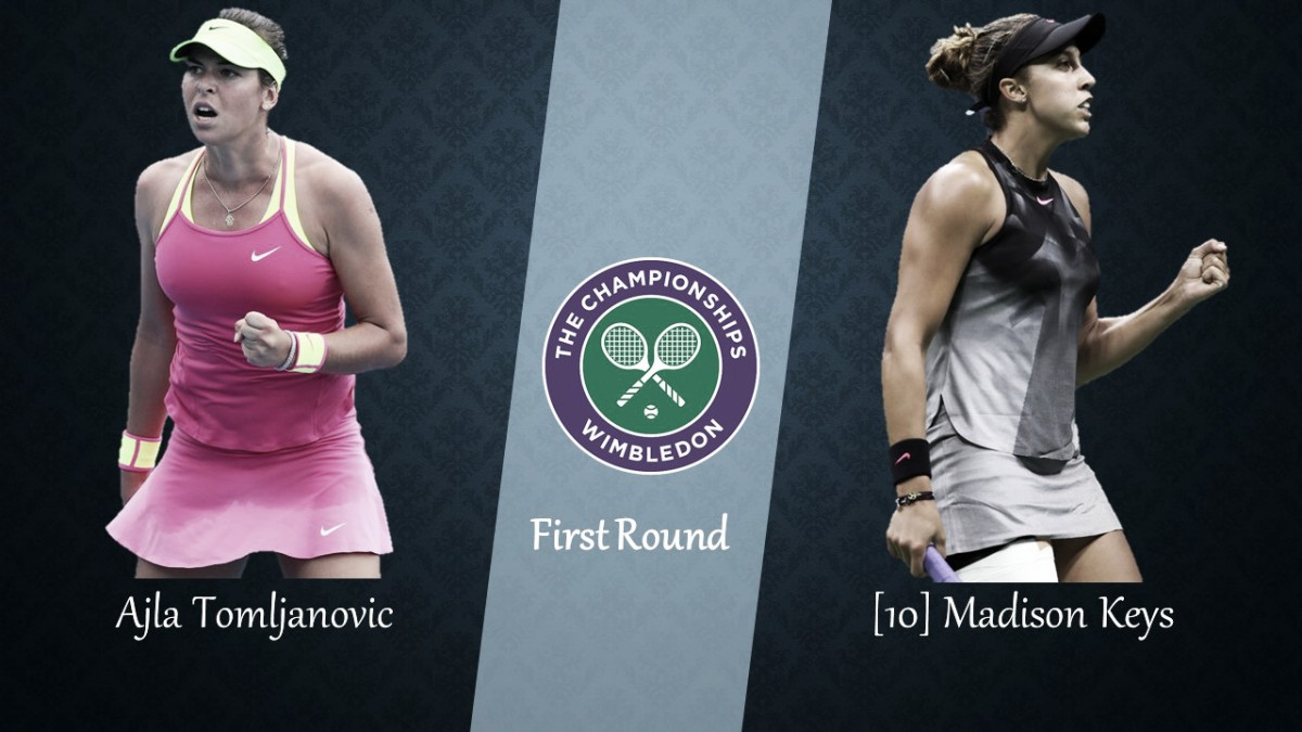 Wimbledon First Round Preview: Ajla Tomljanovic vs Madison Keys