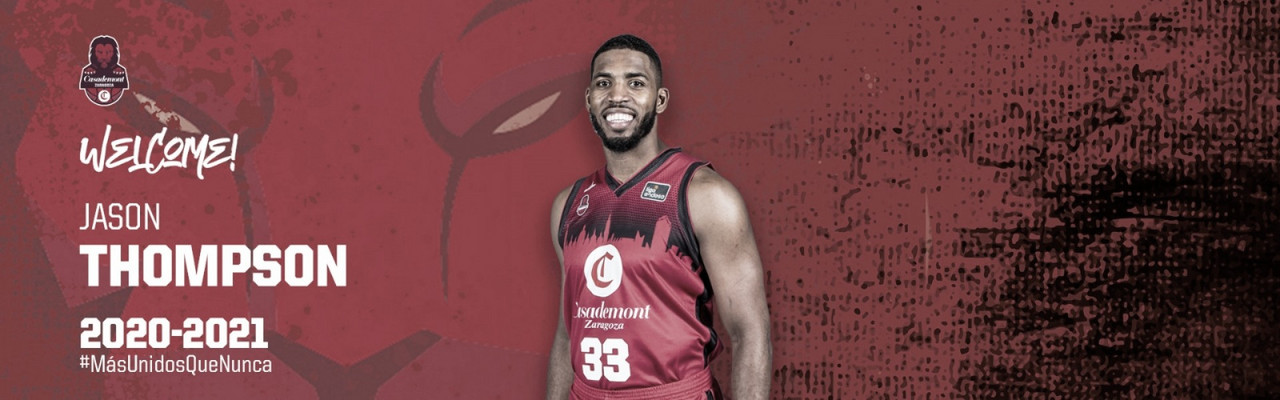 Jason Thompson regresa a Casademont Zaragoza