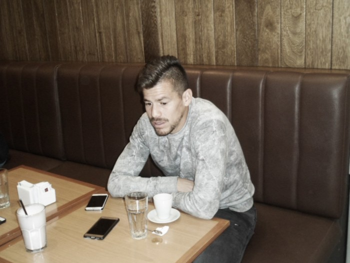 """Entrevista a Gastón Giménez: """"Estoy contento por este gran presente"""""""