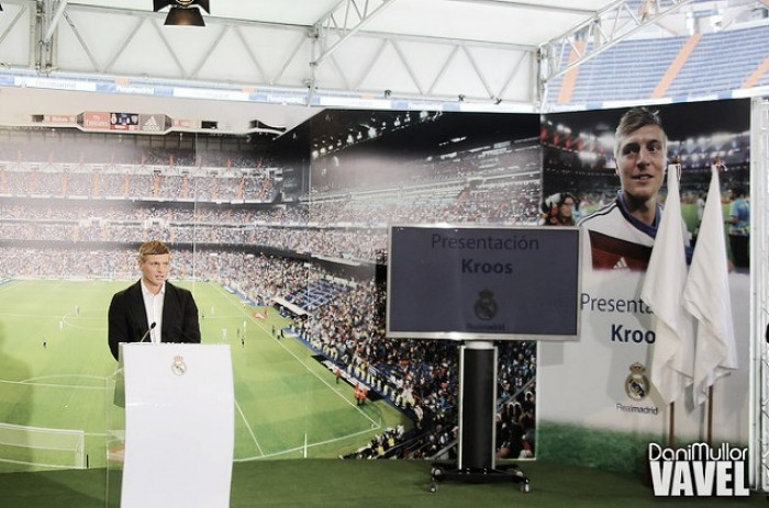 Acto tras la renovación de Toni Kroos en vivo y en directo online
