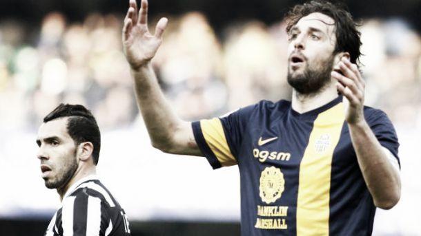 La Juve è pronta per la partita con il Verona. Sfida nella sfida tra Toni e Tevez