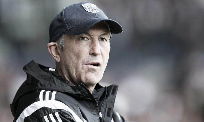 Tony Pulis looks to extend West Broms excellent run of Premier League form