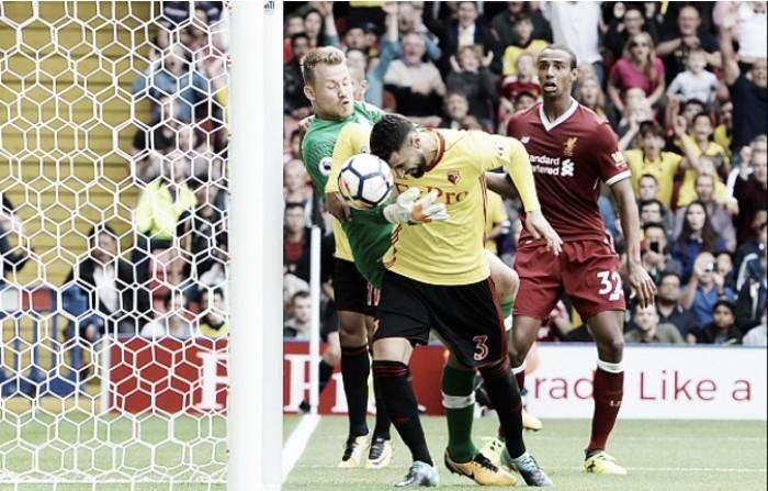 Na estreia de Richarlison, Liverpool e Watford empatam em jogo eletrizante
