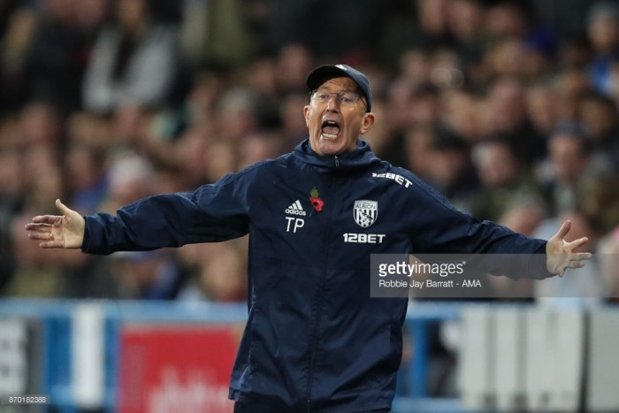 West Brom head coach Tony Pulis: 'Success has put me under pressure'