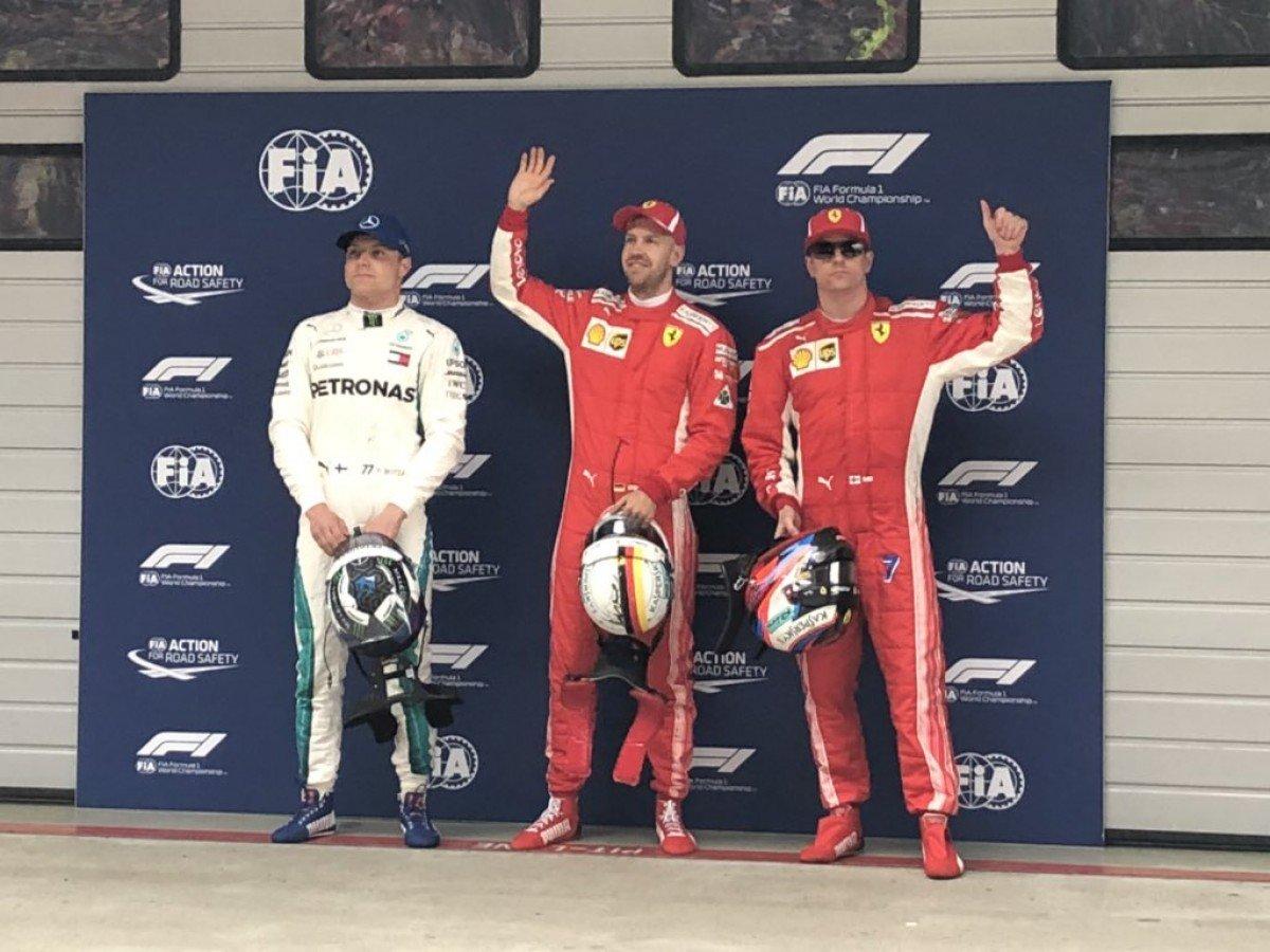 F1, Gp di Cina - Qualifiche, le parole dei top-3 dopo la doppietta Ferrari