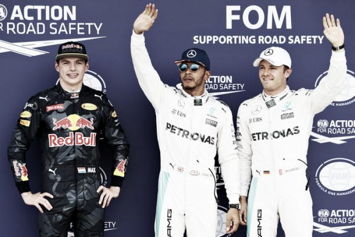 Hamilton supera Rosberg no fim e faz a pole-position para o GP da Inglaterra de Fórmula 1