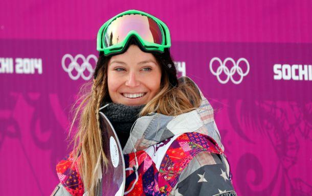 Jamie Anderson première fille dorée du slopestyle féminin !