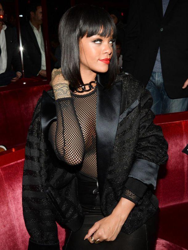 Rihanna combina la moda con la música