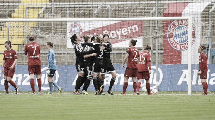 Bayern Munich Frauen 0-1 1. FFC Frankfurt: Bayern's 40-game unbeaten run ended by Bartusiak