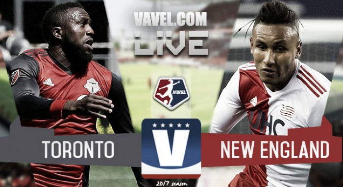 Result and Goals Toronto FC 2-0 New England Revolution in 2017 Major League Soccer