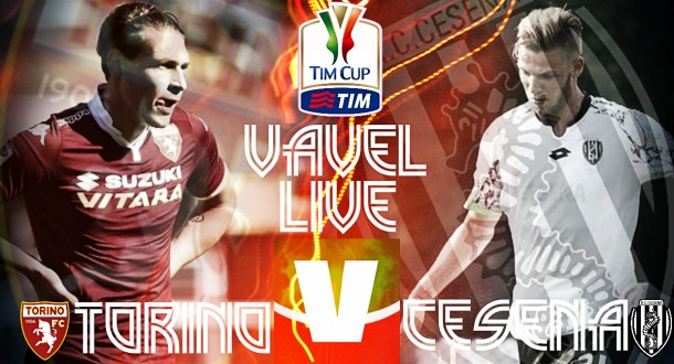Live Torino - Cesena, sedicesimi Coppa Italia 2015/16 in diretta (0-0)