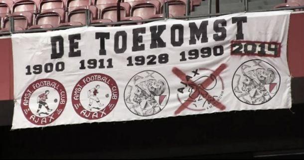 Pesquisa aponta que atual escudo do Ajax está em baixa