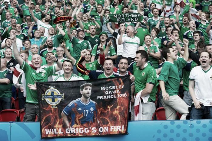 Torcedores norte-irlandeses animam a Eurocopa e conquistam simpatia na França