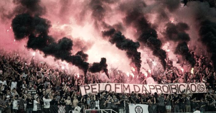 Por uso de sinalizadores, Arena Corinthians tem setor das organizadas interditado pelo STJD