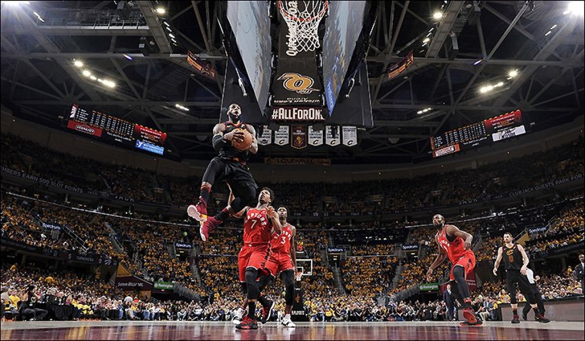 NBA Playoffs - Lo sweep è completo: Toronto assente, Cleveland passeggia