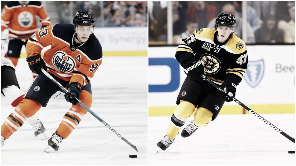 NHL Trade Rumors: Edmonton Oilers, Boston Bruins