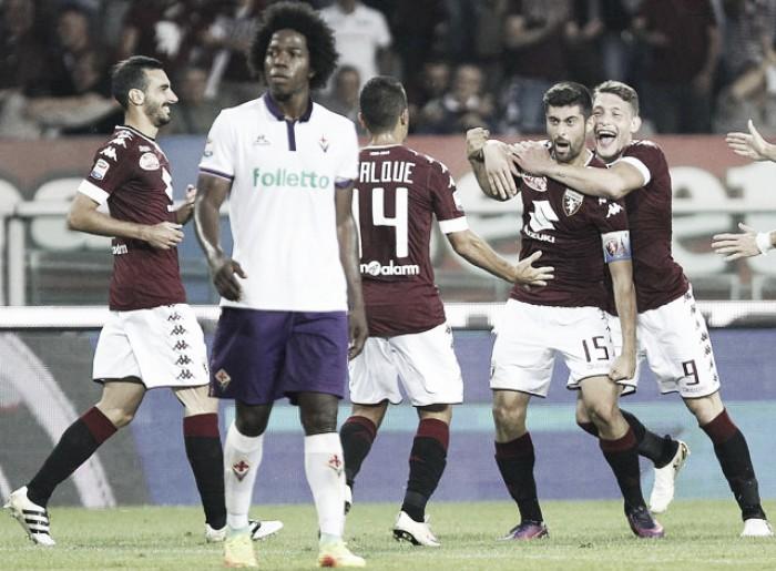 Torino vence em casa e quebra invencibilidade de seis jogos da Fiorentina
