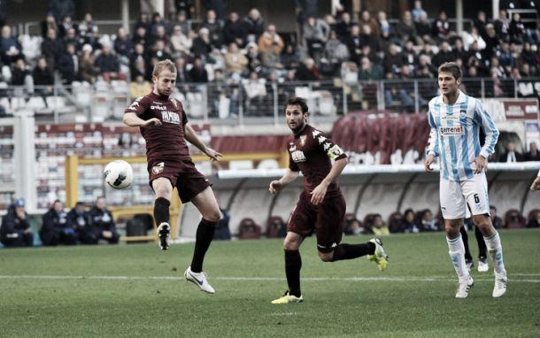 Torino-Pescara, la presentazione