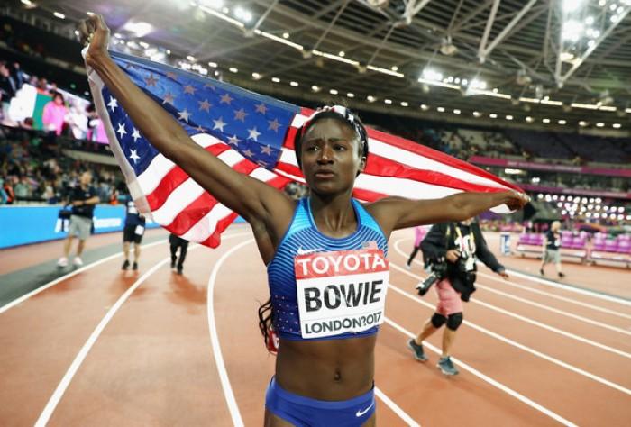 Atletica - Mondiali Londra 2017: 100 alla Bowie, asta alla Stefanidi, il peso è di Walsh