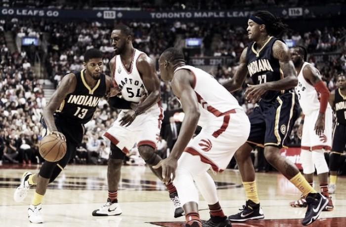 NBA: Indiana domina e poi crolla, Toronto vince il pivotal game (99-102)