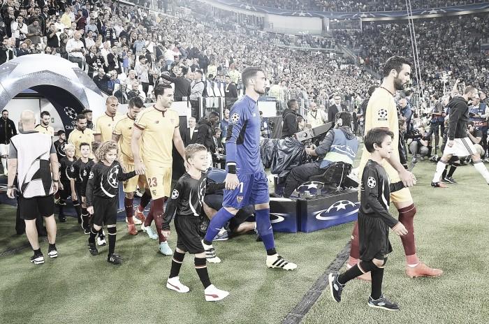 Juventus-Sevilla FC: puntuaciones del Sevilla, primera jornada UEFA Champions League