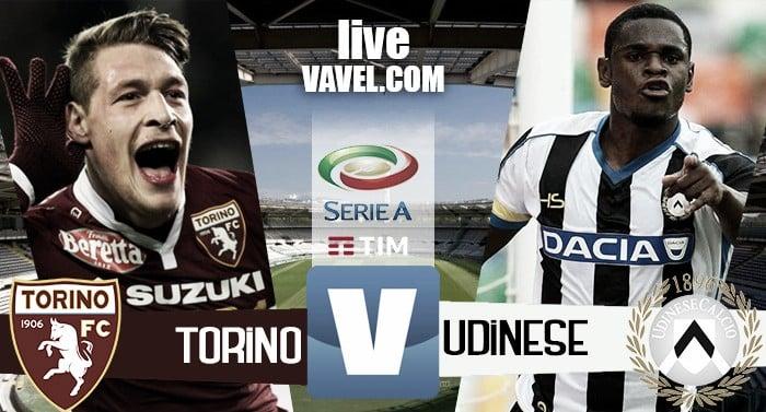 Torino - Udinese in Serie A 2016/17 (2-2) Finisce in parità, gran partita per entrambe le squadre!