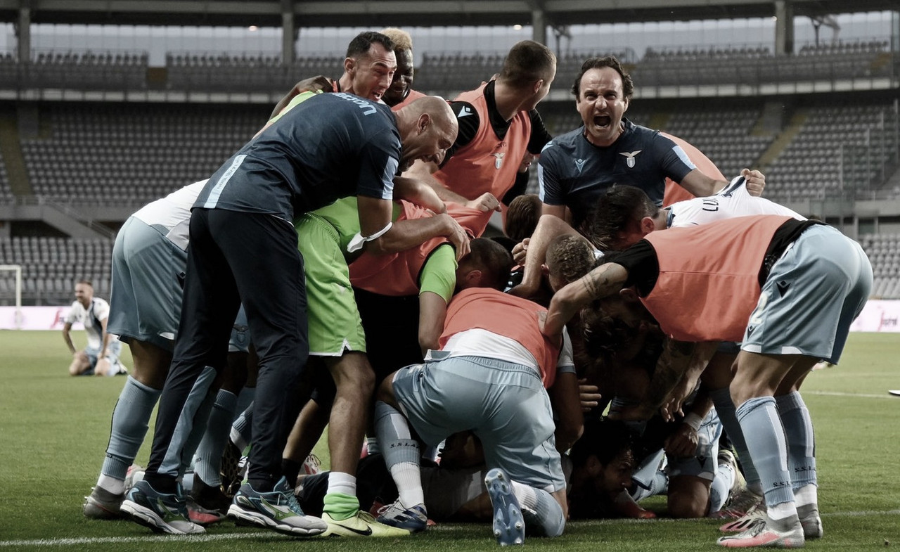 Lazio bate Torino de virada e segue perseguição à líder Juventus