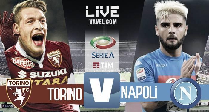 Risultato Torino 0-5 Napoli in Serie A 2016/17: doppio Callejon, Insigne, Mertens e Zielinski