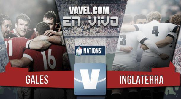 Resultado Gales - Inglaterra en el Seis Naciones 2015 (16-21)