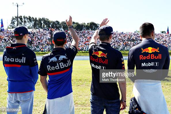 Red Bull and Toro Rosso confirm 2020 driver line-up