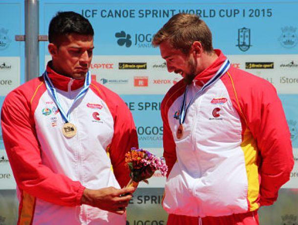 España logra cuatro medallas en las primeras finales de la I Copa del Mundo