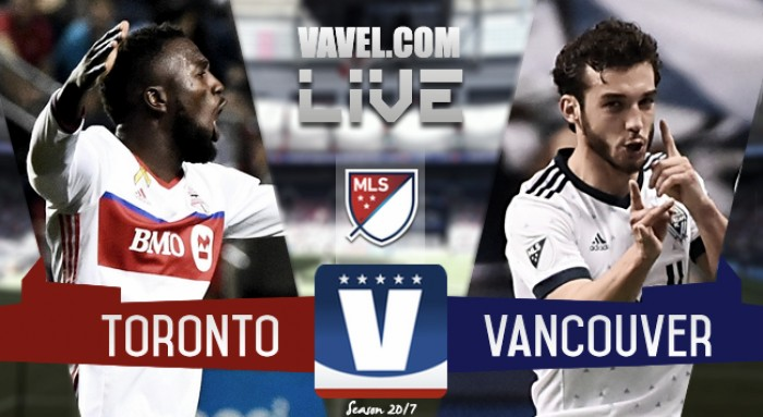 Score: Vancouver Whitecaps 0-2 Toronto FC in Major League Soccer