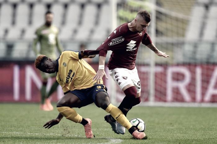Hellas Verona - Setti indica la via