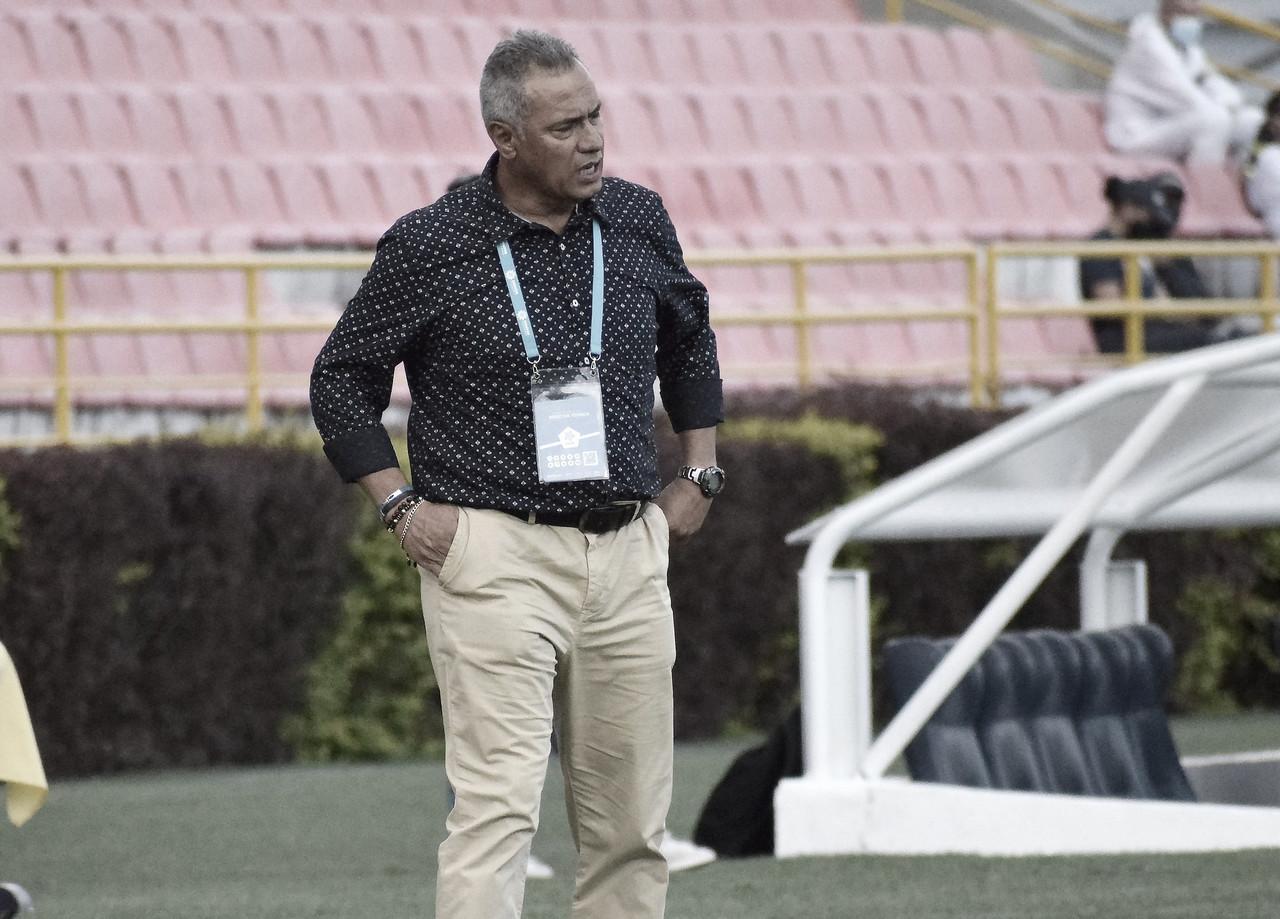 """Hernán Torres: """"Los jugadores recurrieron a la fuerza viril"""""""