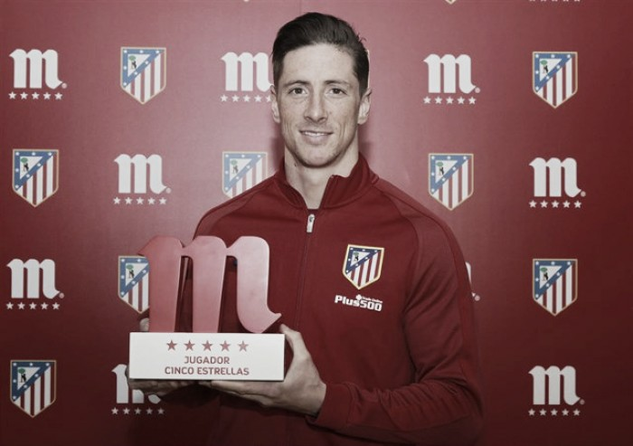 Torres nombrado mejor jugador colchonero de febrero