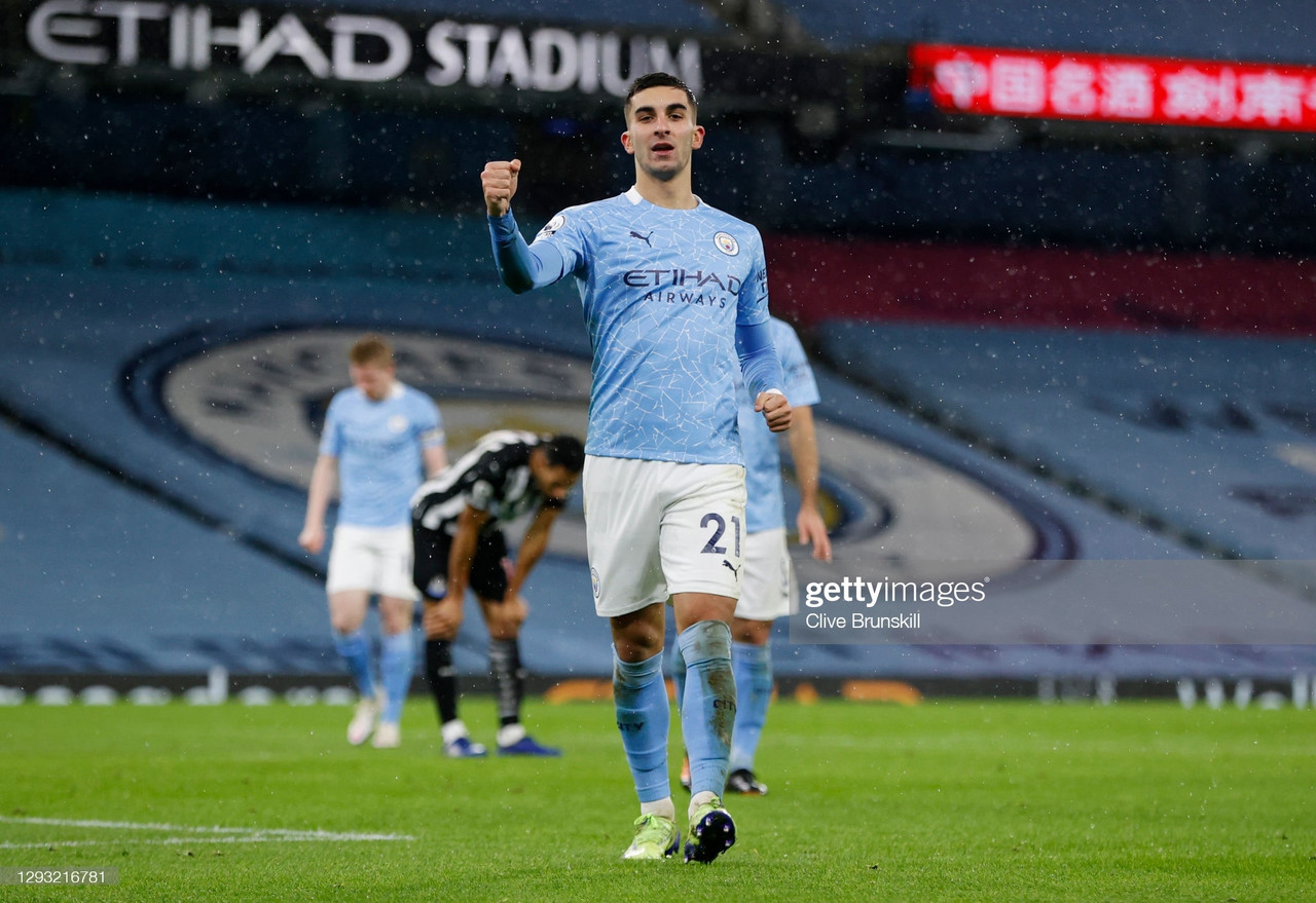 Manchester City 2-0 Newcastle United - City cruise to Boxing Day win