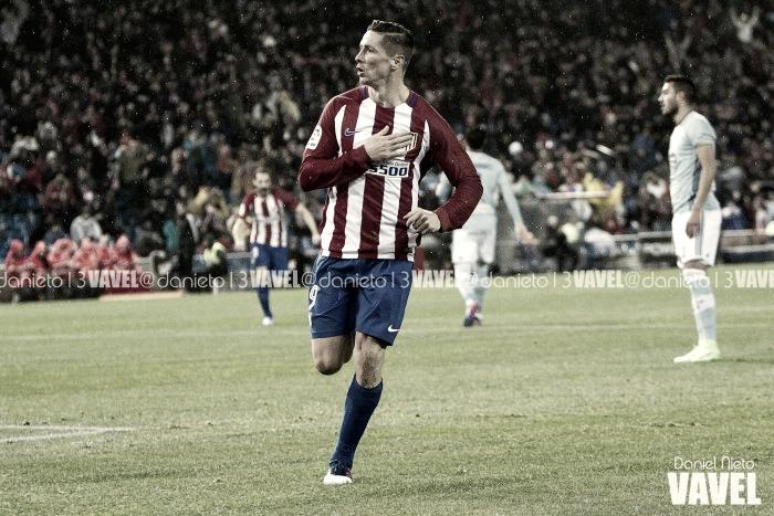 """Fernando Torres: """"Estoy en casa, mi deseo es jugar en el Atlético"""""""