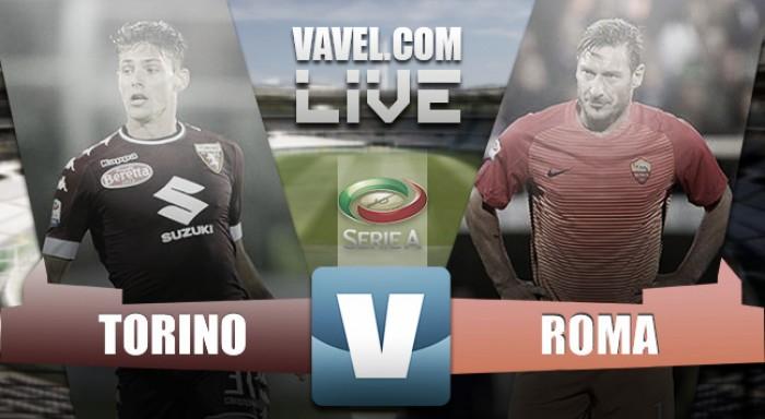 Partita Torino vs Roma in Serie A 2016/17 (3-1)