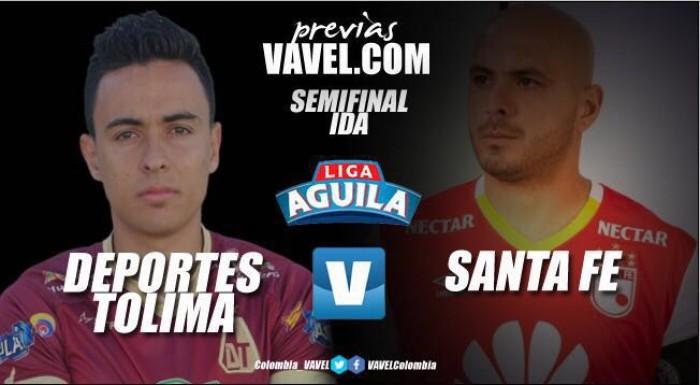 Previa Tolima - Santa Fe: 'pijaos' reciben a los 'leones' en la ida por la semifinal de la Liga Águila II